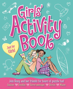 Girls Activity Book