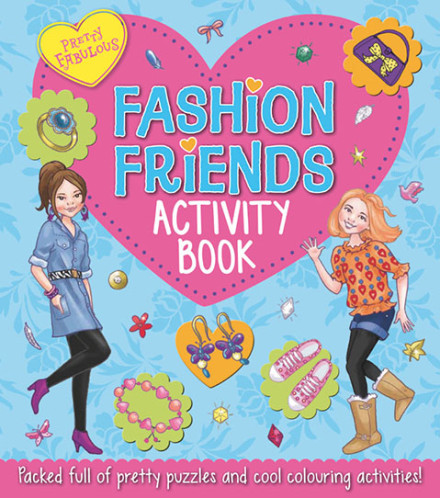 Fashion Friends Activity Book