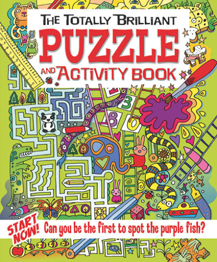 The Totally Brilliant Puzzle & Activity Book